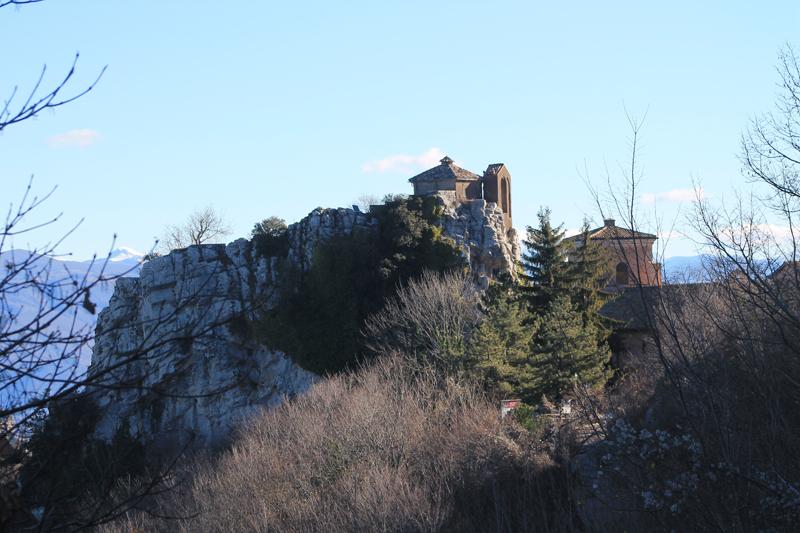 Sentiero della Pace: da Pisoniano al Santuario della Mentorella